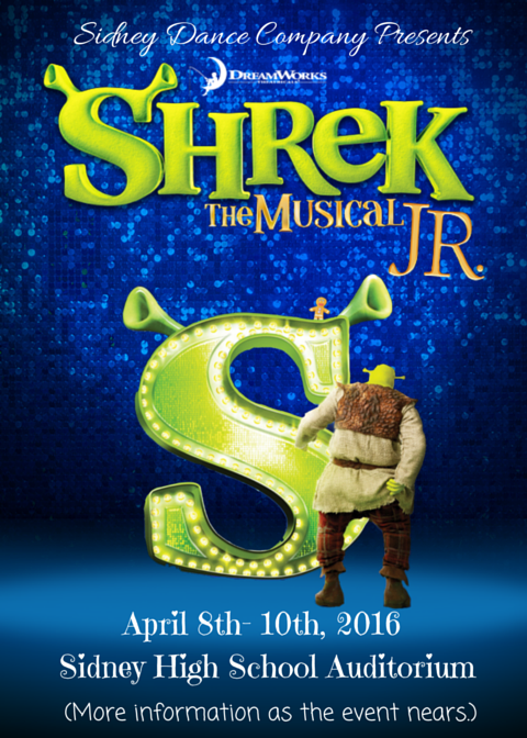 Sidney Dance Company presents Shrek The Musical Jr.