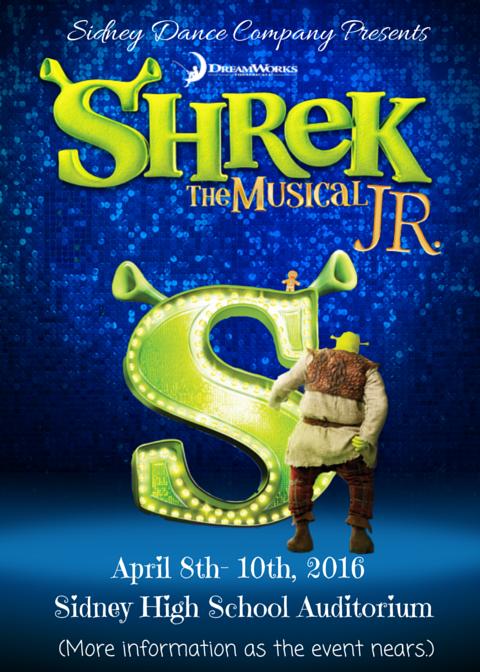 Sidney Dance Company presents Shrek The Musical Jr.