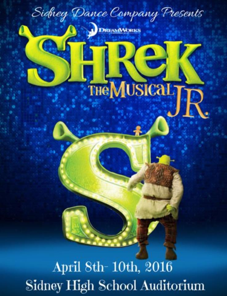 The Sidney Dance Company presents Shrek The Musical Jr.